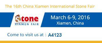Xiamen Stone Fair 2016 - Stand A4123